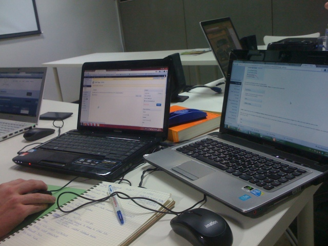 working at webcourses